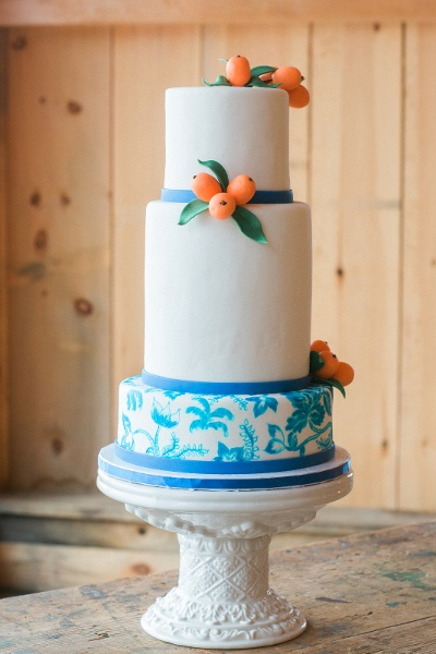Maine wedding cake idea