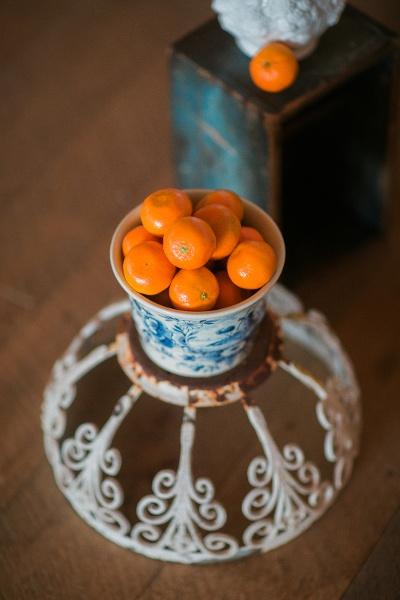 Country Tangerine Wedding