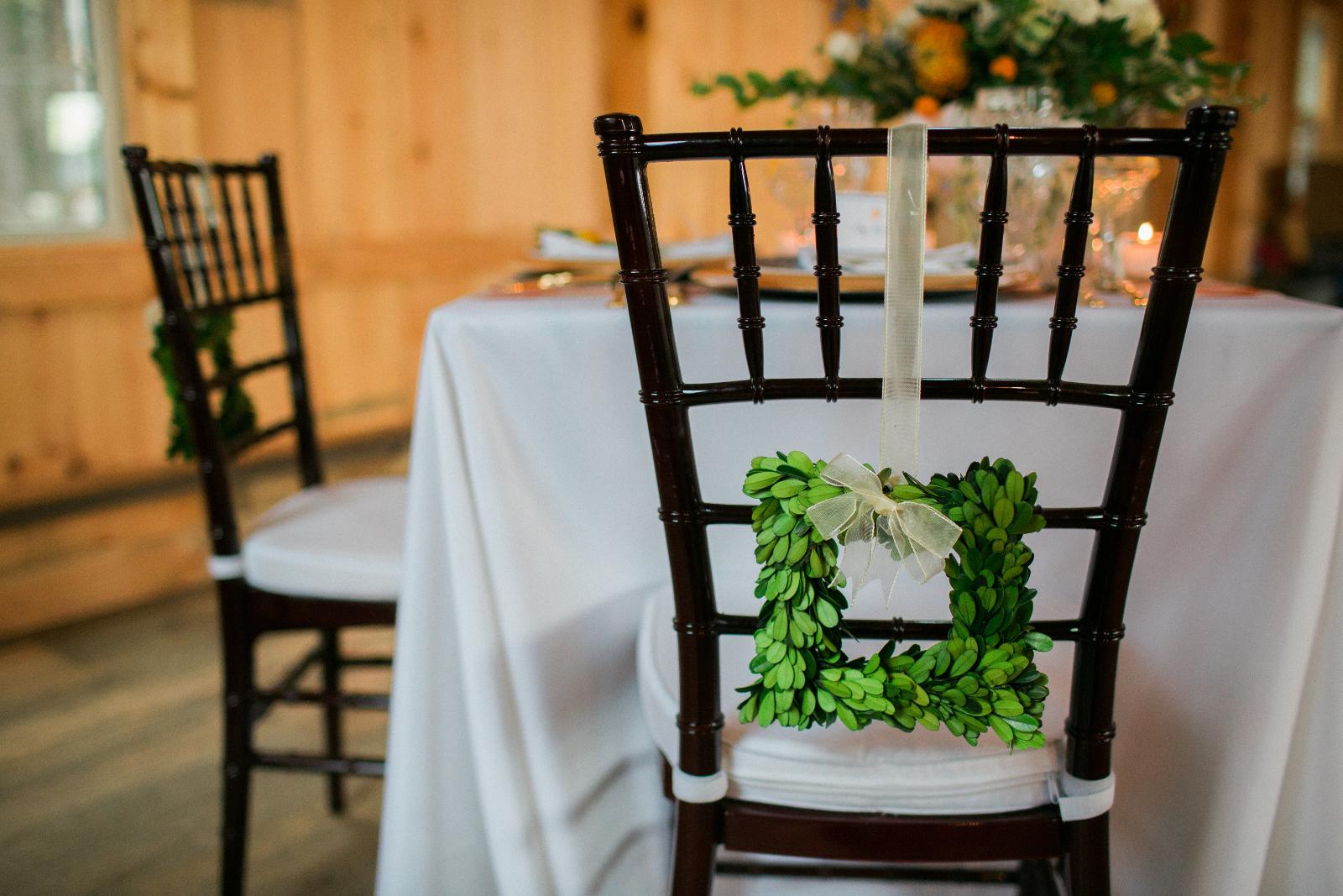 Bride wedding chair