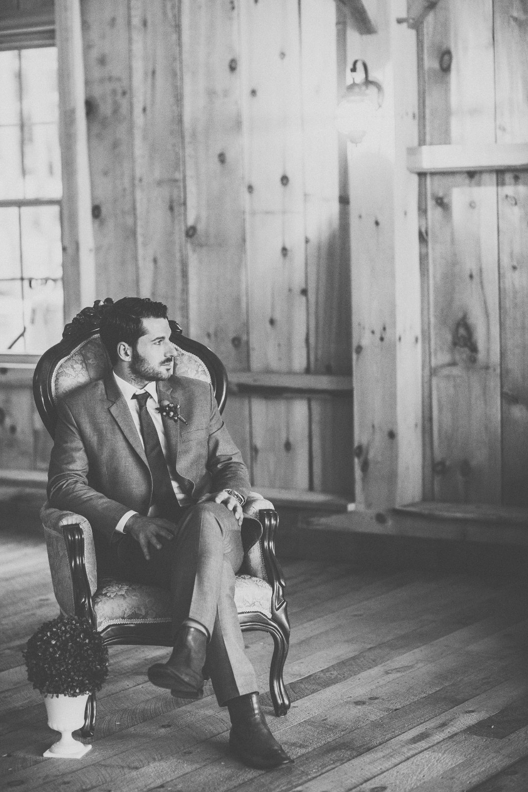 Amazing Groom Picture Maine