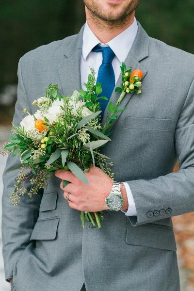 Groom Wedding Photos maine