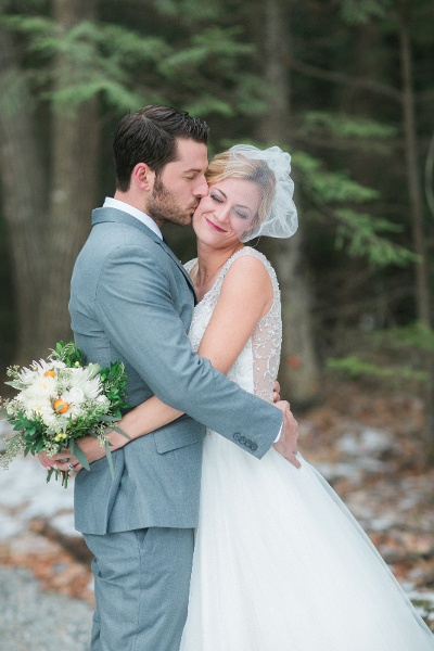 Maine outdoor wedding