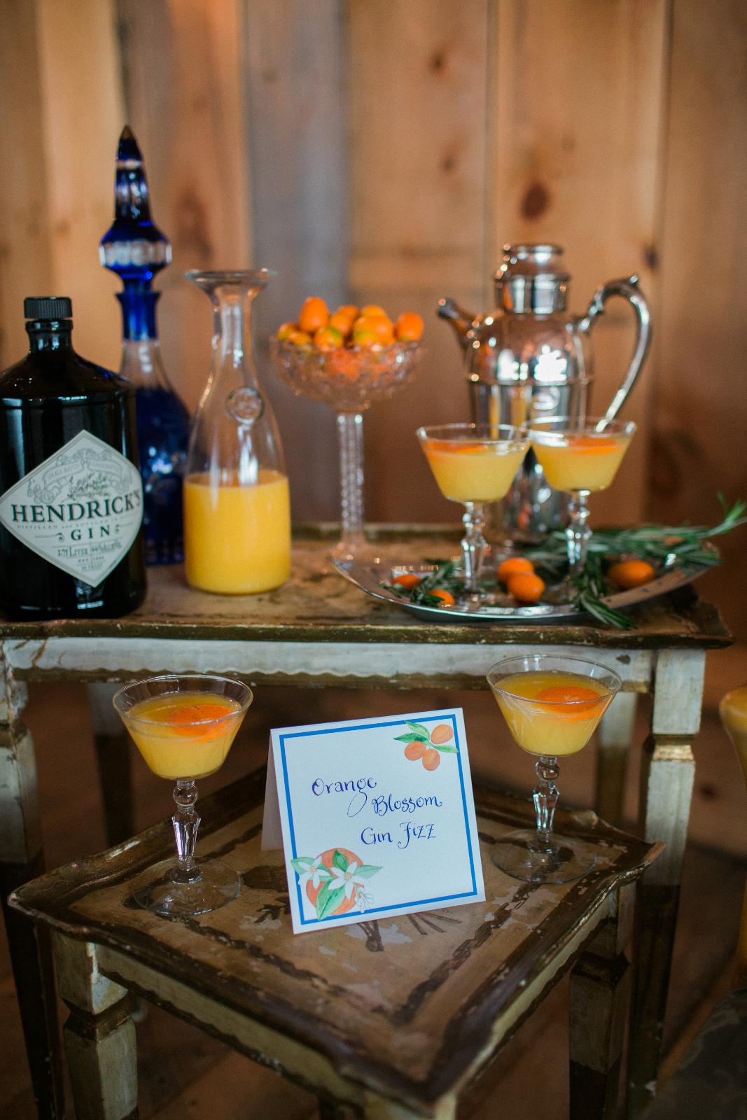 Creative Wedding Cocktail