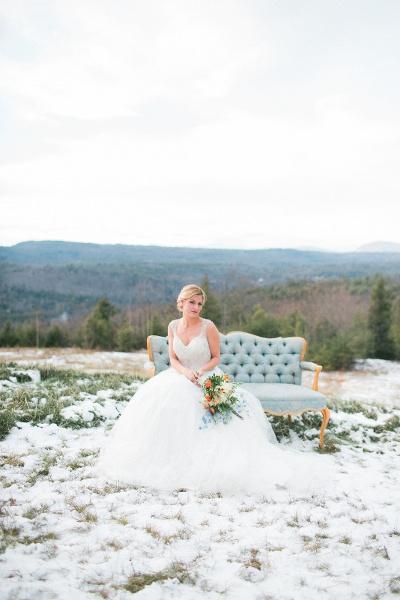 Rustic Maine Wedding