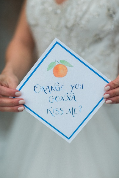 Maine Calligraphy Wedding Invitation