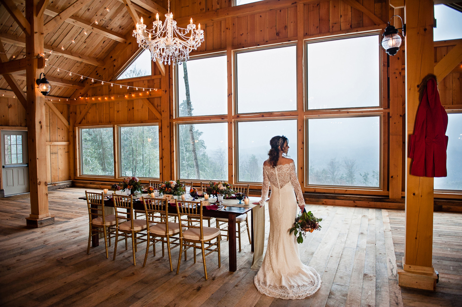 Rustic Maine Wedding Venue