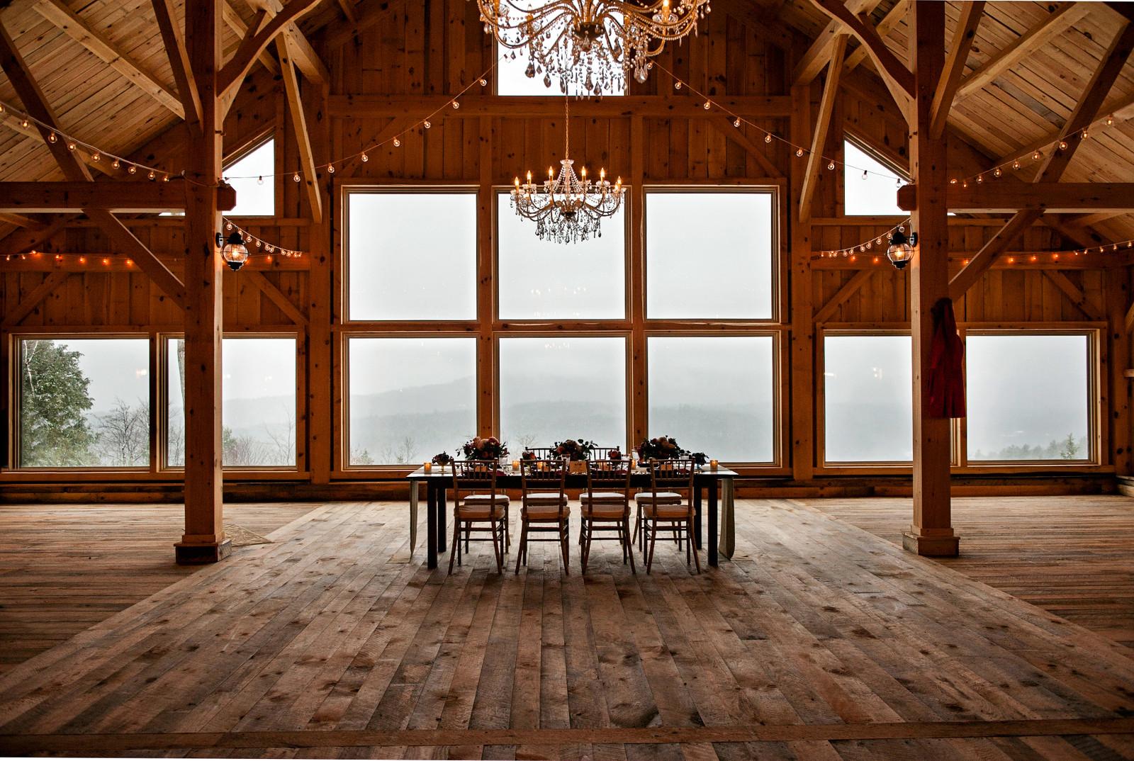 Rustic Maine Barn Wedding