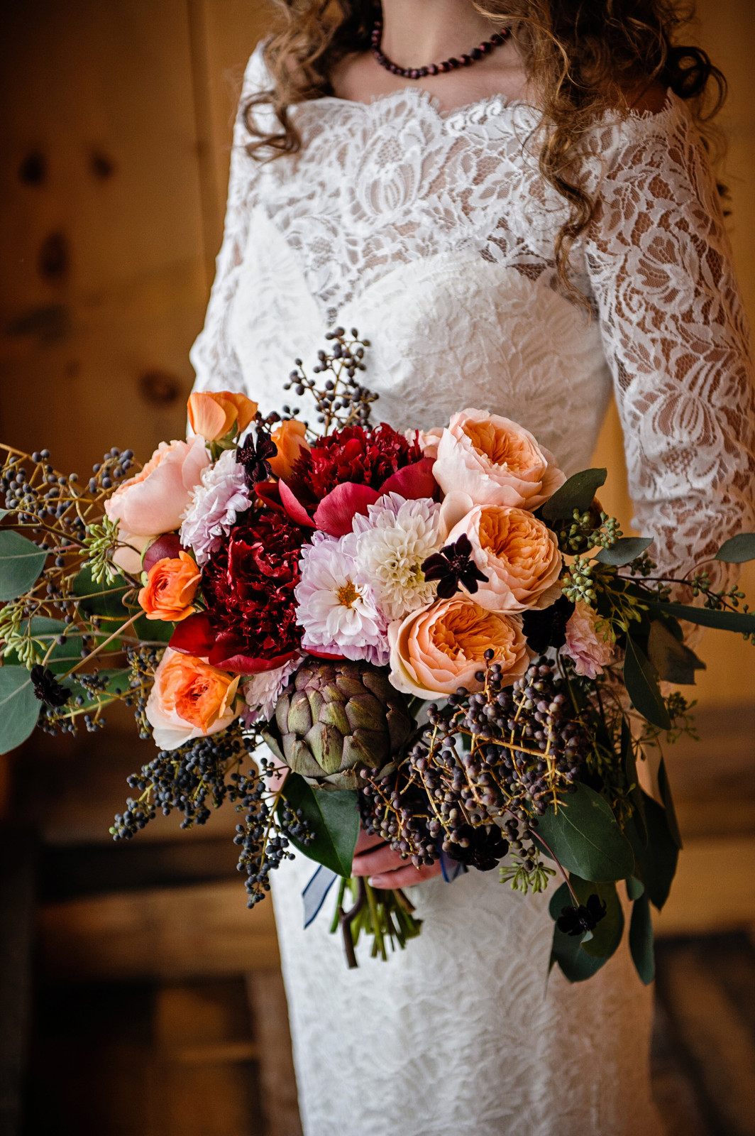 Rustic Marsala Wedding Theme