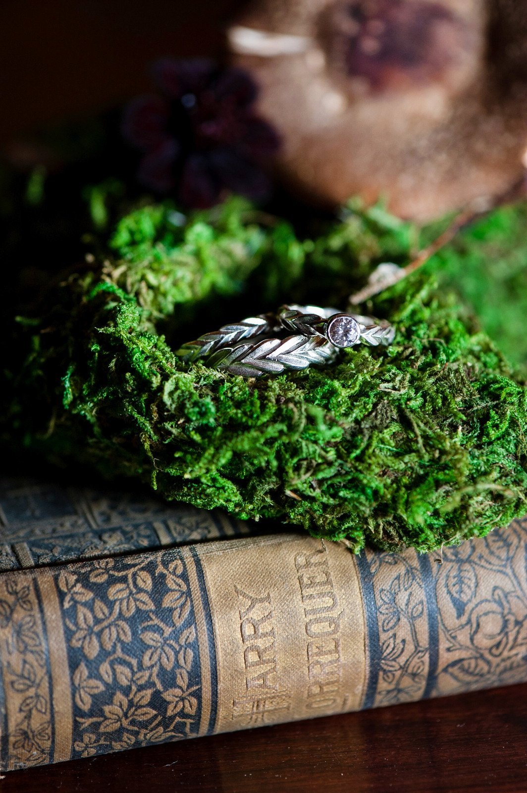 Rustic Wedding Ring