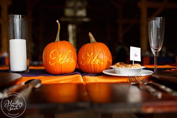 Pumpkin Wedding Idea