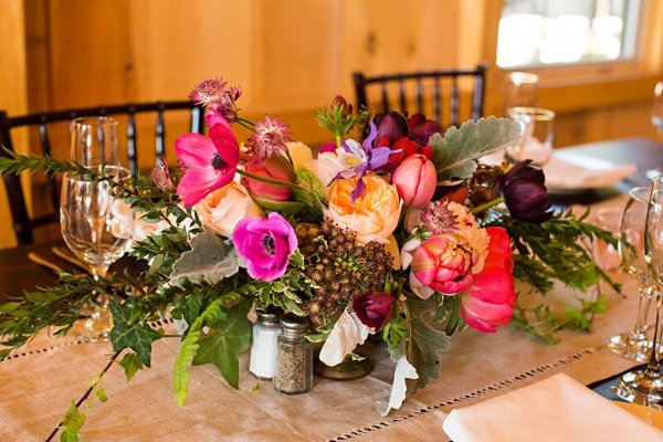 Colorful Rustic Wedding