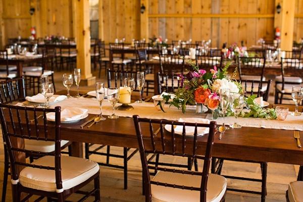 Farm Tables for Wedding