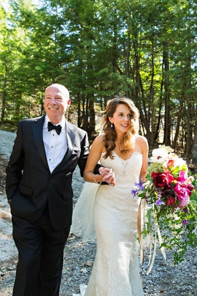 Father Daughter Down the Isle