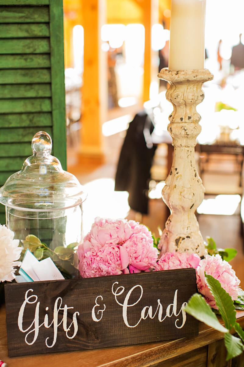 Rustic Wedding Setting