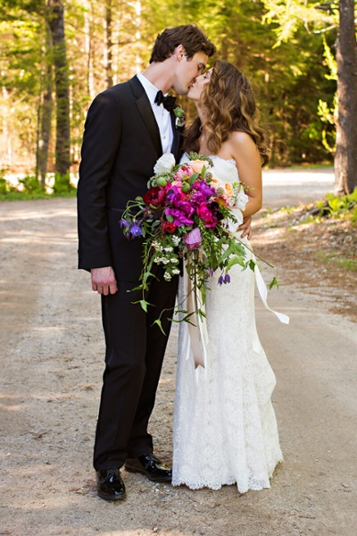 Beautiful Maine Wedding