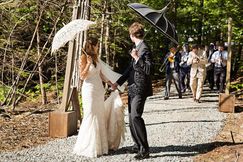 Unique Maine Wedding