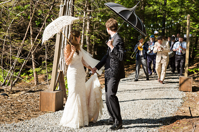 Unique Maine Wedding