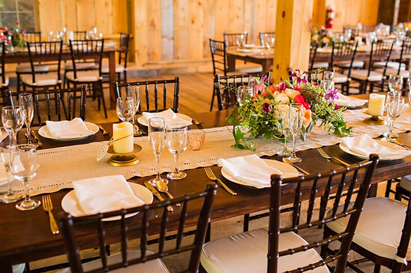 Rustic Elegant Table Setting