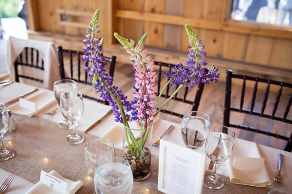 Lupine Table Setting