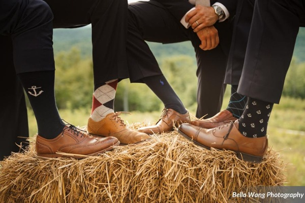 Sock Wedding Trend