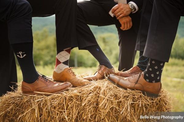 Sock Wedding Trend