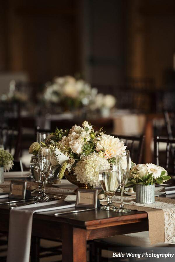 Rustic Chic Table Setting